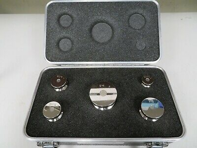 Rice Lake ASTM Electronic Calibration Metric Weights Set 4.2 kg Total MS38