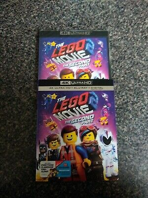 The Lego Movie 2 The Second Part (4k+Blu-ray+Slipcover) NO DIGITAL INCLUDED