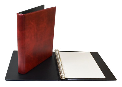 Deluxe 22 Ring Stamp Album Binder with padded cover - A Nice Quality Album
