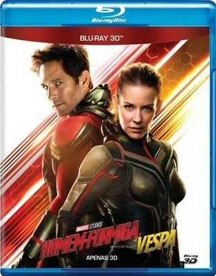 Blu-ray Ant-Man and the Wasp 3D region free sealed 7.1 audio Marvel