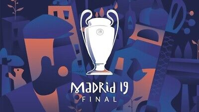1 Ticket UEFA Champions League Finale 01.06.2019 Madrid