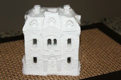 California Creation Creative Crafts Hospital Ceramic Ready to Paint Building