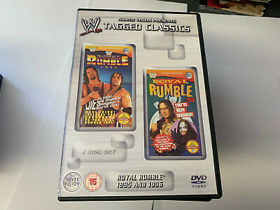 WWE Tagged Classics - Royal Rumble 1995 & 1996 DVD WWF Rare & Deleted Wrestling