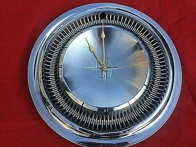 1966-1967 Lincoln Continental hubcap wall clock Father's Day Gift