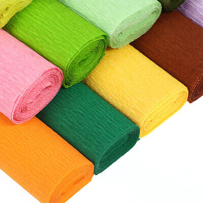 1 Roll Crepe Paper For Handmade Paper Flower Wedding Birthday Party Decor Kindly