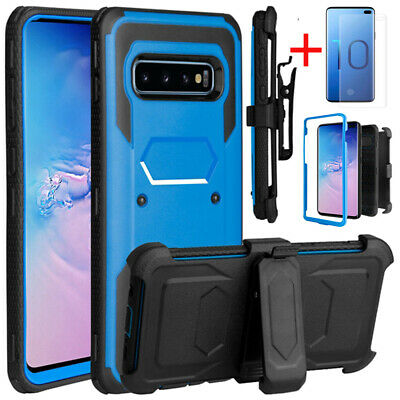For Samsung Galaxy Note 9/S10 Plus/S10e Case With Clip Holster+Screen Protector