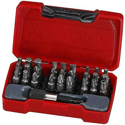 Teng Tools 1/4 Lecteur Phillips Tournevis Plat Bit Set,Mandrin Rapide,Support