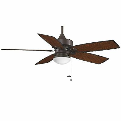 "Fanimation FP8016 52"" 5 Blade FanSync Compatible Indoor / Outdoor Ceiling Fan -"