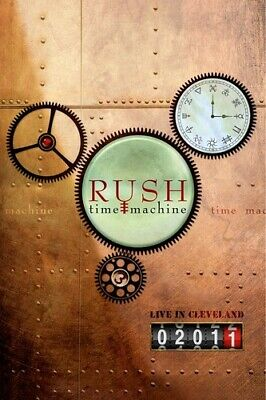 Rush: Time Machine - Live in Cleveland (REGION 0 DVD New)