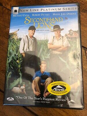 Secondhand Lions (DVD, 2004, Platinum Series) NEW! Free Ship Canada!