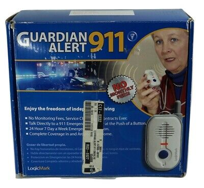 Guardian Alert 911 Emergency Alerting Device Help Seniors Life Alert Logic Mark
