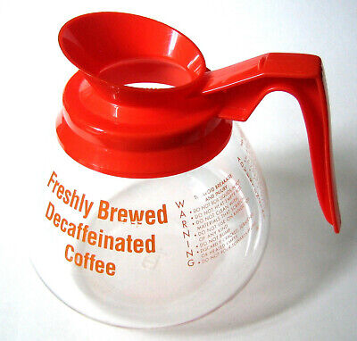 Mr Coffee Decaf Pot by Schott Germany - Xlnt Cond. Great for Restaurant or Shop.