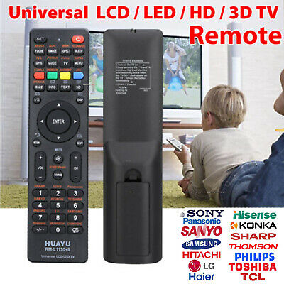 Universal LCD/LED/3D TV Remote for Samsung/Hisense/TCL/PHILIPS/SHARP/HITACHI/LG!
