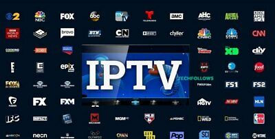 12 Month Premium VIP IPTV Subscription Over 6500 Channels + VOD MAG Android M3U