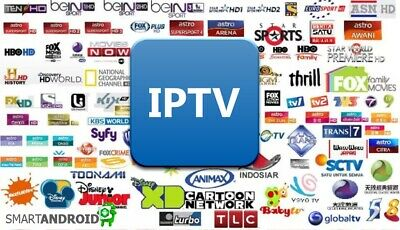 6 Month Premium VIP IPTV Subscription Over 6500 Channels + VOD MAG Android M3U