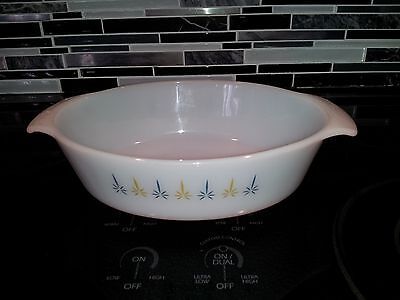 Anchor Hocking Fire King Candle Glow Casserole Dish
