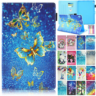 """For Samsung Galaxy Tab A 10.1"""" T510 T515 2019 Luxury Leather Wallet Case Cover"""