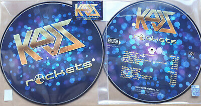 Rockets - Kaos - Picture Disc Lp - 300 Copie Numerate Su Sticker Esterno - Nuovo