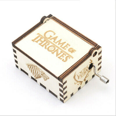 New Souvenir Gifts Game of Thrones Hand Crank Music Box Festival Gifts