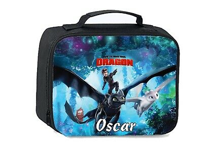 How to train your dragon School Insulated Lunch bag 24cm X 18cm X 8cm