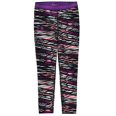 Under Armour HeatGear Armour Printed Leggings Girls SIZE 13 YEARS REF C4860*