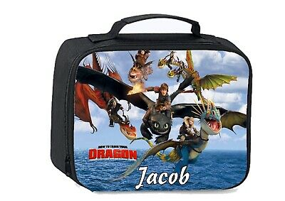 Personalised How to train your dragon School Insulated Lunch bag