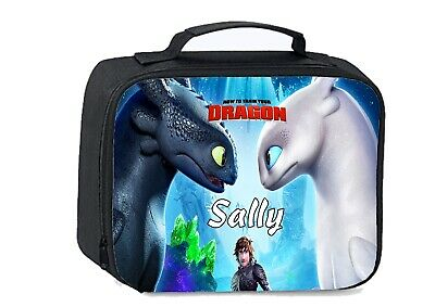 How to train your dragon Personalised School Insulated Lunch bag