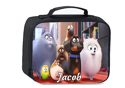 Secret Life of Pets School Insulated & Personalised Lunch bag