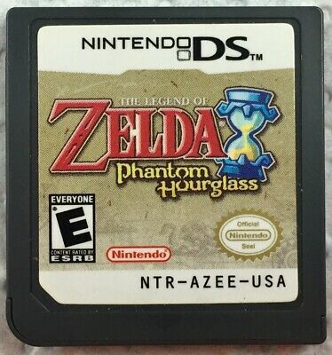 Zelda The Phantom Hourglass Nintendo DS NDS DSI 3DS Game Cart Only Tested