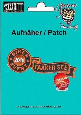 FAAKER SEE Biker Event 2018 PATCH