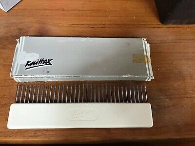 Knittax Knitting Machine Transfer Comb Vintage