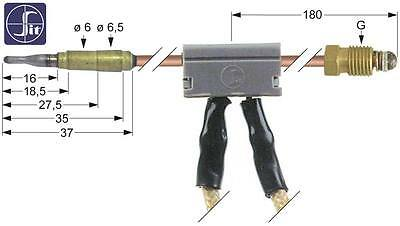 Sit Thermocouple with Breaker Length 600mm Socket Ø 6/6,5mm M9x1