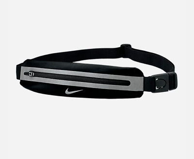 3d32e463ed654 Nike Slim   Small Items Black Lightweight Crossbody Waistpack   Fanny Pack  Bag