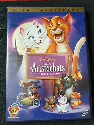 Les Aristochats Edition Exclusive Dvd Disney N°23