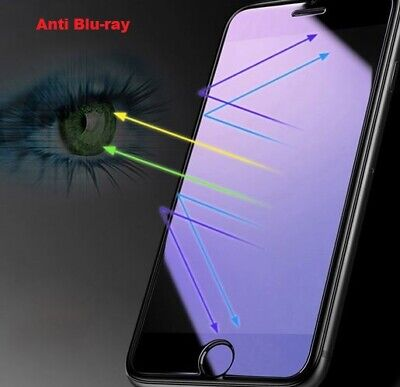 5D Anti-blue Light Full Cover Tempered Glass for iPhone X XS MAX XR,7,8,6plus