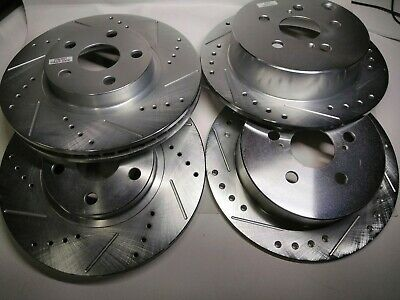 Power Stop JBR926XPR Rear Evolution Drilled /& Slotted Rotor Pair