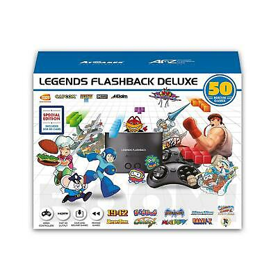 Legends Flashback Deluxe Game Console with Bonus SD Card BRAND NEW!