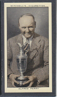 Mitchell - A Gallery of 1935 - # 33 Alfred Perry - Golf