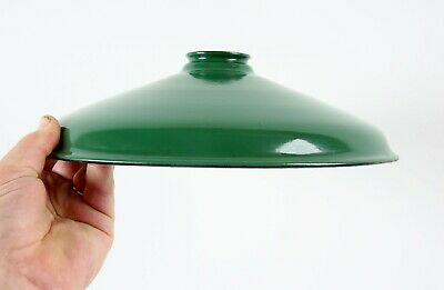 Extra Clean Vintage 12 inch Porcelain Barn Light Shade Gas Station Fixture