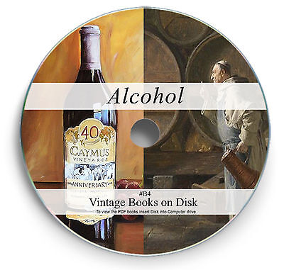 318 Rare Brewing & Distilling Books on DVD - Beer Wine Making Yeast Home Brew B4