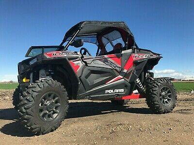 POLARIS RZR XP 1000 Side Vent Covers - Includes Stainless Steel