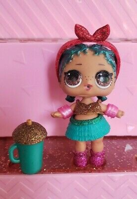 Brand New Sealed Complete Lol Doll Glam Glitter Coconut Qt Only Clue Checked Dolls Dolls, Clothing & Accessories