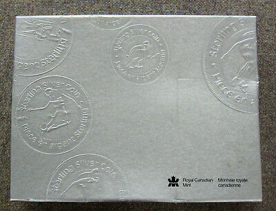 Canada Sports Anniversary Set of 12 Sterling Silver 50 Cent Coins in Case