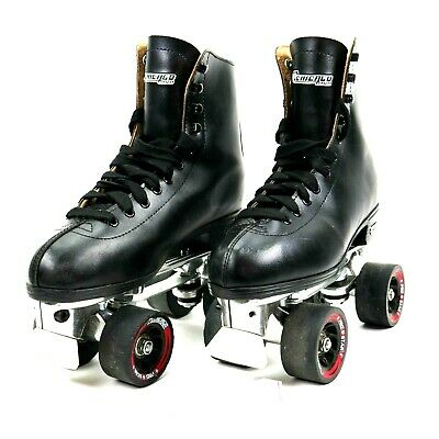 Chicago 805 Deluxe Black Roller Skates Mens size 7 comes with skate tool