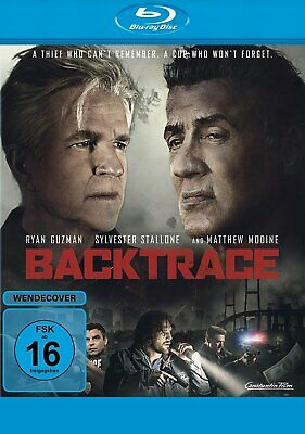 Backtrace - (Sylvester Stallone + Ryan Guzman) * BLU-RAY-NEU