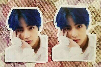 Us Seller 2 Set Bts Stickers Taehyung  V Tae K-Pop Decal Sticker So Cute!