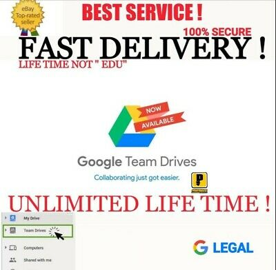 Buy 2+1 Free Unlimited Google Drive Storage Lifetime  On Existing Acc