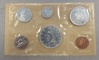 1987 Canadian Mint Prooflike 6 Coin Set