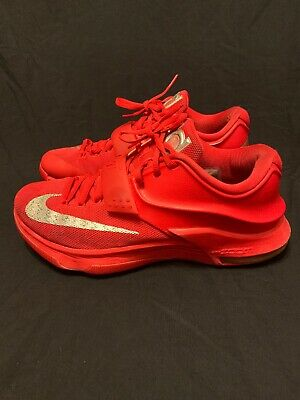 the best attitude a179b 901d2 Nike KD VII 7 Global Games Red October Kevin Durant Men s Size 9.5 653996- 660