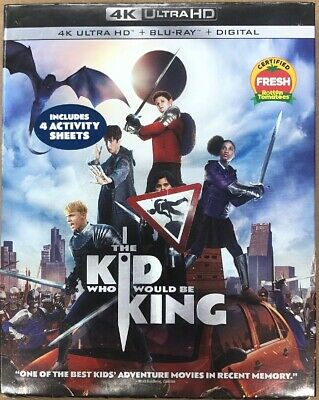The Kid Who Would Be King on 4K Ultra HD + Blu-ray + Digital